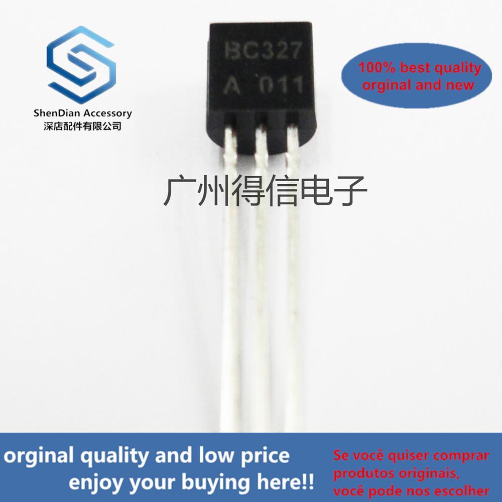 50pcs 100% Orginal New BC327-25 BC327A BC327 PNP General Purpose Transistor TO-92 Real Photo