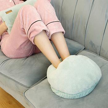 Przenośne USB elektryczne podgrzewacze stóp ogrzewanie stóp ciepła poduszka dla mężczyzn kobiety dla biura nauka w domu Dropshipping tanie i dobre opinie CN (pochodzenie) Crystal Velvet 360g Available Acceptable