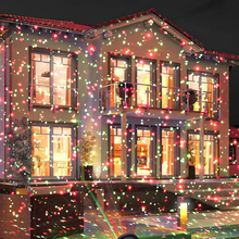 Lighting Laser-Lamp Lawn Moving Christmas-Party Garden Outdoor Green LED Red Full-Sky-Star