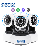 SNOSECURE Wireless Security IP Camera WIFI Home Surveillance 720P Night Vision CCTV Camera IP Onvif P2P Baby Monitor Indoor Cam wetrans security wifi camera cloud storage 720p hd p2p ir night vision smart camera baby monitor home surveillance wireless cam