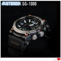 Darmowa wysyłka 1 pc marki nowy w całości z metalu zegarek dla G Sh0ck GW 5000 5035 5600 G D5000 na wymianę zegarka w null od Zegarki na