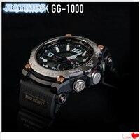 Frete Grátis 1 pc Brand New Full Metal Moldura do Relógio para G Sh0ck GW-5000 5035 5600 G-D5000 para Relógio de Substituição