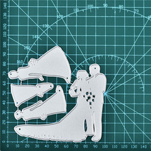 Naifumodo Wedding Dies Metal Cutting for Card Making Scrapbooking Embossing Stencil Craft Frame Couple