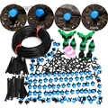 MUCIAKIE 5-50M Blau Einstellbare Tropf Bewässerung Düse Bewässerung System Stop zu Große Wasser Tropfen Garten Terrasse Micro kits