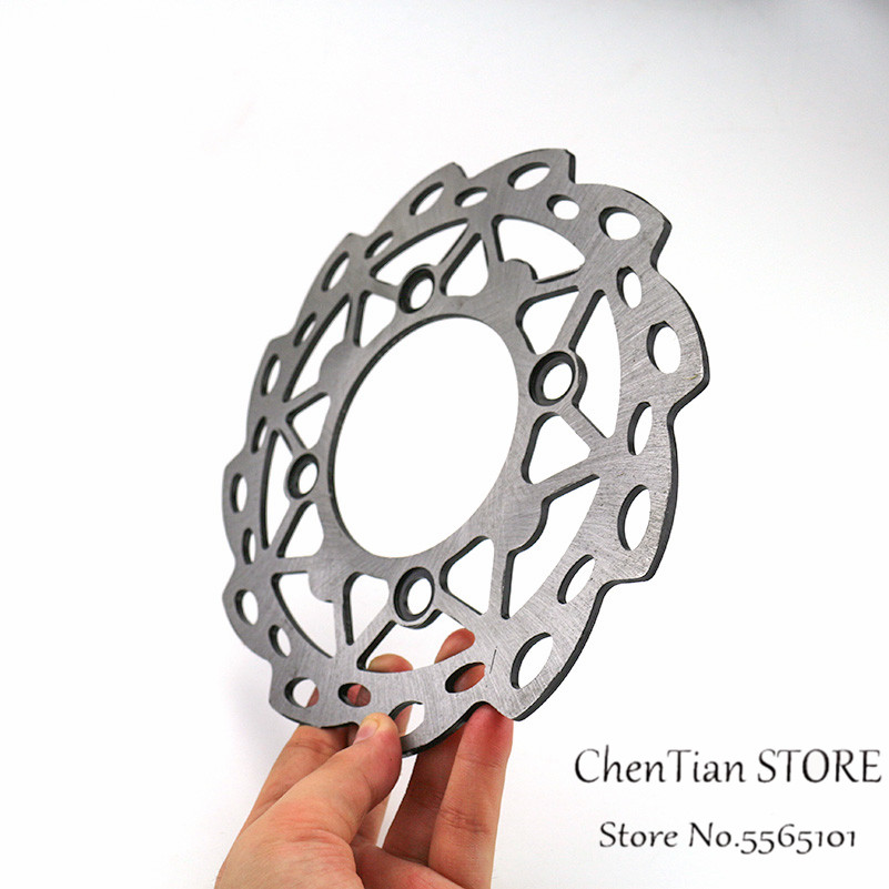 Motorcycle Rear Brake Disc Rotor With 4 Holes 190mm For Chinese 50cc-160cc Dirt Pit Bike CRF50 SSR Motorcycle