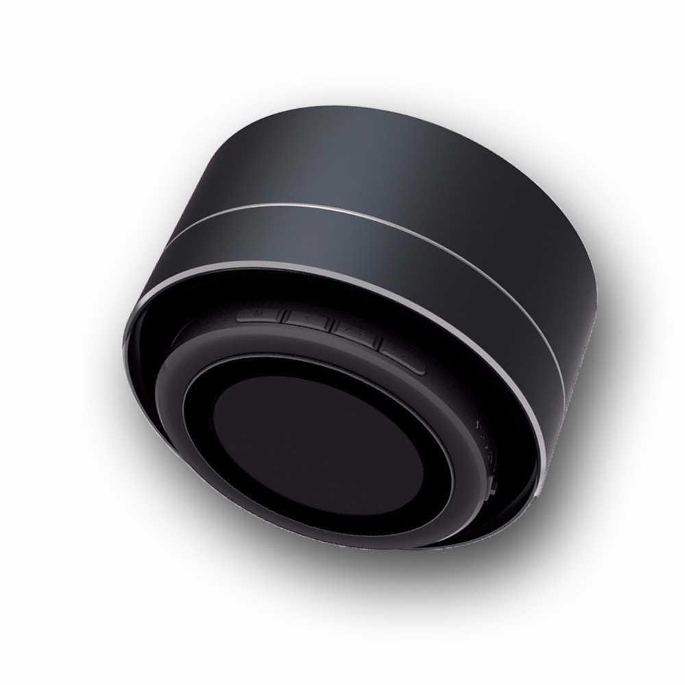 A10 petit haut-parleur led Bluetooth basse Mini haut-parleur Portable 3W columnl caisson de basses + carte MicTF Radio FM pour iPhone-Xiaomi