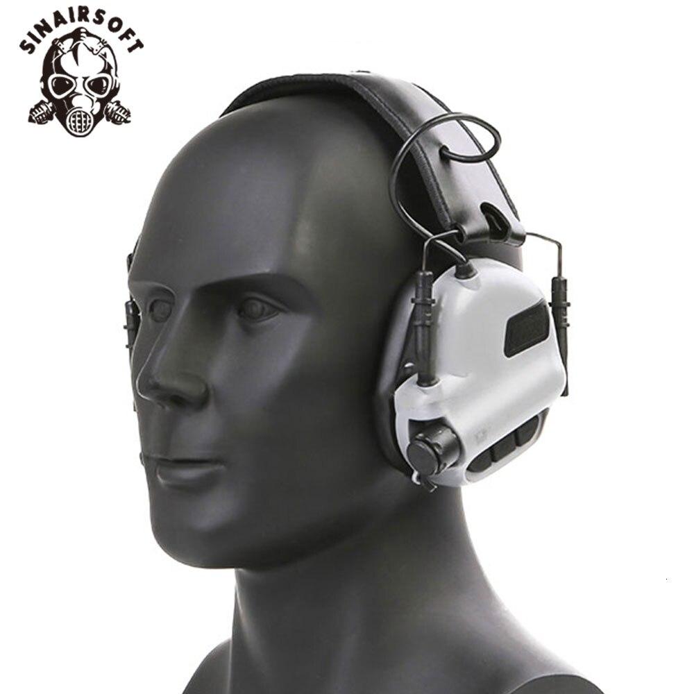 fone de ouvido tatico eletrico head mounted earmor protecao auditiva fones de ouvido para paintball caca