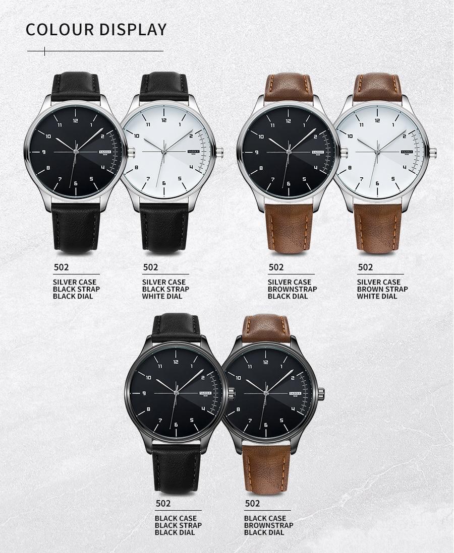 H873c612a9f90435cadf6845252a78e805 Yazole Watch simple stylish business