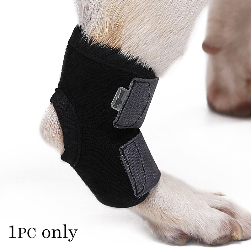 1Pc Dog Leg  Bandage Strap Pet Knee Pad Leg Hock Brace Protector Dog Joint Bandage Wrap Anti-twist Fixed Cover