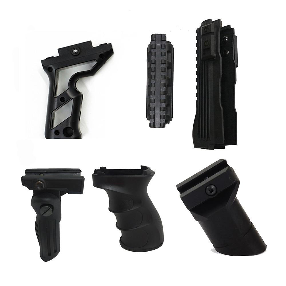 Tactical Hunting Grip Strikeforce Polymer Handguards Upper lower Picatinny RailsAK 47 series Grip ABS Handle Foregrip 20mm Rail