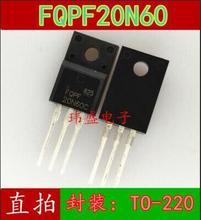 Free shipping 50PCS 20N60 FQPF20N60C FQPF20N60 600V 20A TO 220F