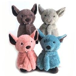1pc 24cm Bat Plush Toy Dark Elf Cute  lifelike Bat Baby Soft Toy Sleep Storytelling Plush Kids Toys Gift For Children