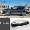 ل BMW x3 G01 G08 xDrive30d X3 M40i 2018 2019 2020 ألياف الكربون السيارات مقبض الباب مقبض الخارجي تقليم يغطي
