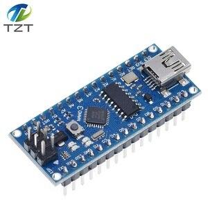 Image 5 - 10 pièces Nano 3.0 contrôleur compatible avec Arduino nano CH340 pilote USB pas de câble NANO V3.0