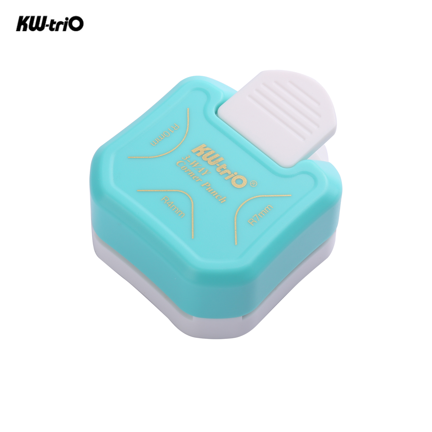 3-in-1 Mini corner trimmer Corner Rounder Punch R4/R7/R10mm Round Corner Trimmer Cutter for Card Photo Paper Laminating Pouches 1