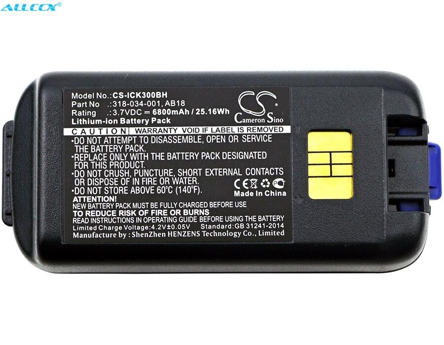 Cameron sino 6800 mah bateria 318-033-001, 318-034-001, ab17, ab18 para intermec ck3, ck3a, ck3c, ck3c1, ck3n, ck3n1, ck3r, ck3x