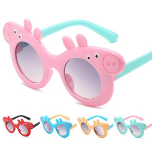 Peppa Pig George Sunglasses Children UV Protection Cartoon Character Family Sunglasses 3-8 Years Old Boys and Girls Gift Toys