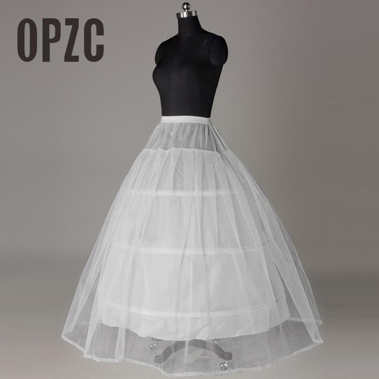 In Stock Petticoats for Wedding Accessories Crinoline Cheap Underskirt Petticaot/ Gloves/Veils/ Customized Free Shipping