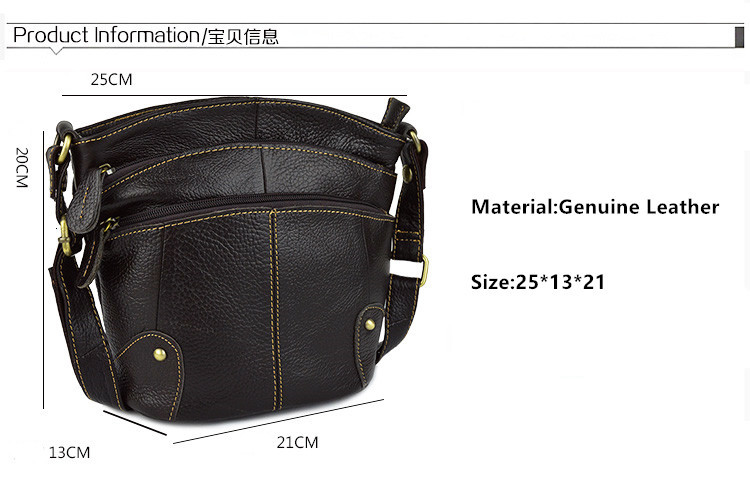 100% Cowhide Women Crossbody Bag Genuine Leather Small Messenger Bags For Ladies Shoudler 2019 bolsa feminina bolso mujer AR01