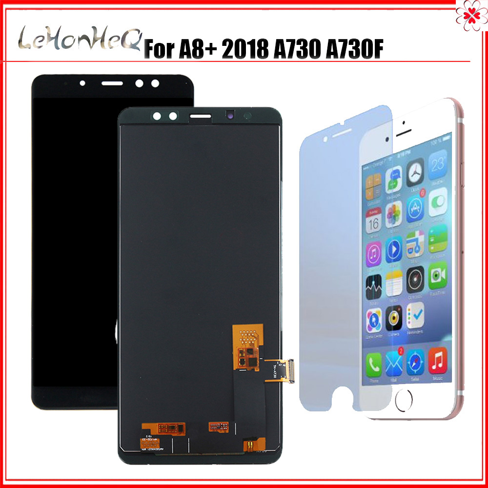 For Samsung Galaxy <font><b>A8</b></font> Plus <font><b>2018</b></font> A730 A730F A730F/DS LCD <font><b>Display</b></font> Touch Screen Digitizer assembly For Samsung <font><b>A8</b></font>+ A730 LCD image