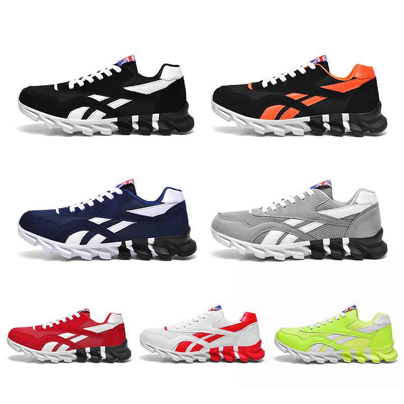 2020 neue Frühjahr Herbst Männer Laufschuhe für Außen Bequeme MenTrianers Turnschuhe Männer Sport Schuhe Athietic Atmungsaktive Klinge