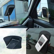 Черный автомобиль анти/Non-Slip Стекло тире коврик для мобильных телефонов iPhone 4G 4S iPod Фирменная Новинка