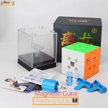 Moyu Weilong GTS3M 마그네틱 큐브 3x3x3 매직 큐브 속도 GTS3 GTS2 GTS2M 오리지널 큐브 3x3 Magico Cubo 3*3*3 Black Stickerless