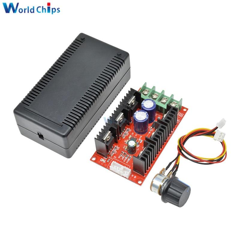 Régulateur de vitesse moteur cc 12V 24V 48V 2000W MAX 10-50V 40A PWM HHO RC PWM régulateur Module de commande