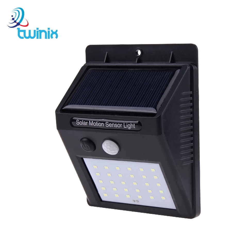 Solar 30 LED Lighting 3 Function-Motion Sensor-Dimmable Lighting/Motion Sensor-Continuous Combination Mode Waterproof