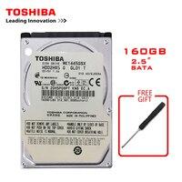 """TOSHIBA Marke 160GB 2 5 """"SATA2 Laptop Notebook Interne 160G HDD Festplatte 100 MB/s 2/8mb 5400 7200RPM disco duro interno-in Interne Festplatten aus Computer und Büro bei"""