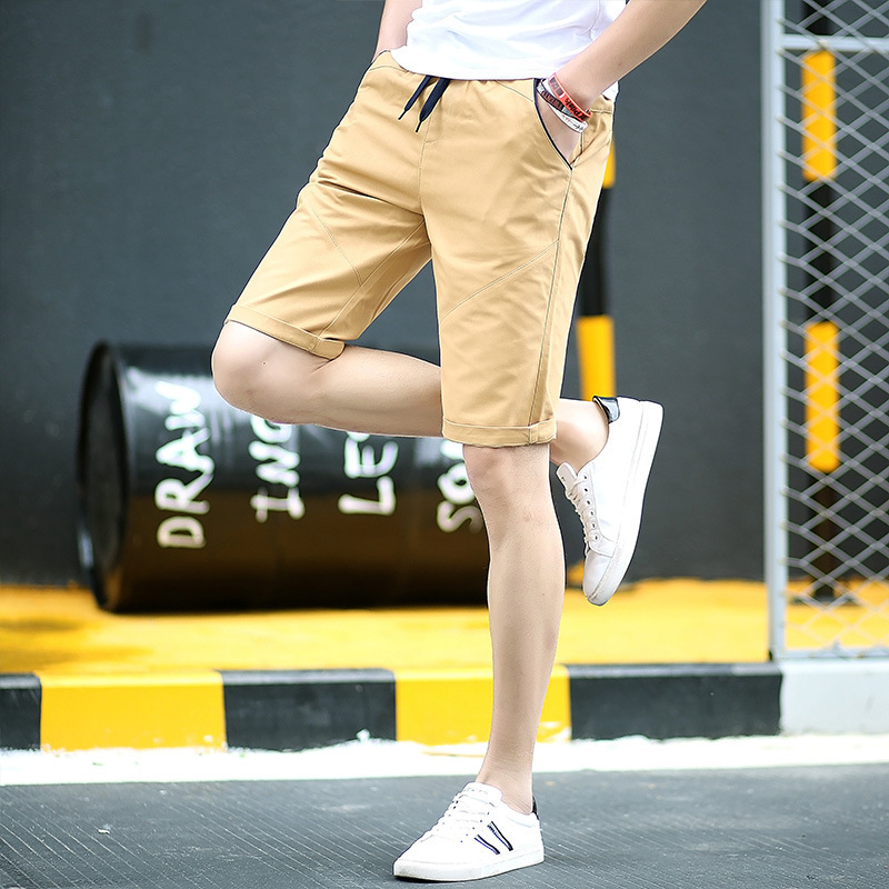 2019 Summer Men's Casual Shorts Teenager Shorts Large Size Shorts Men's Beach Shorts