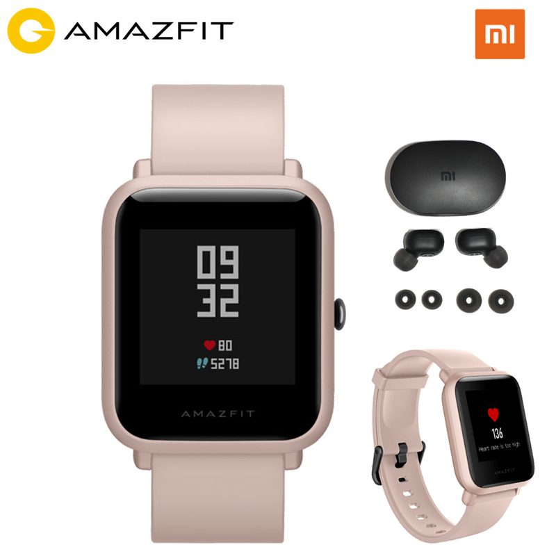 Huami Amazfit Bip Lite Smartwatch Global Version 45 Days Battery Life 3ATM Waterproof 24H Heart Rate Sleep Monitor Smart Band