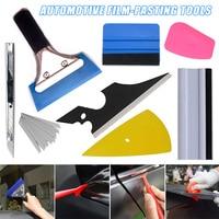5 pces/8 pces matiz da janela do carro que envolve ferramentas de vinil rodo raspador aplicador kits ghs99|Conjuntos ferramenta manual| |  -