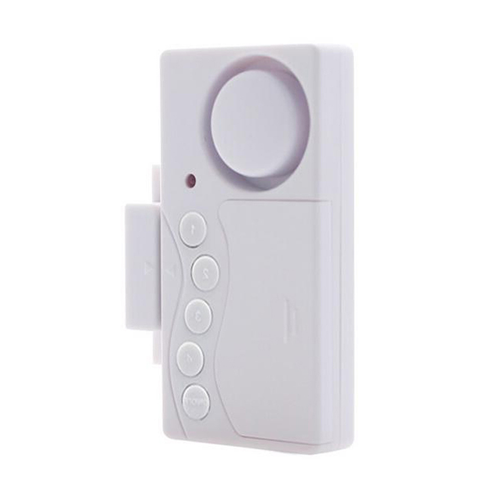 New Door And Window Security Alarm Wireless Time Delay Alarm System Magnetic Triggered Door Open Chime For Home Security