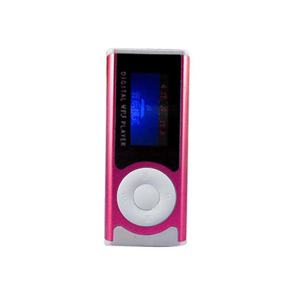 2019 новый супер мини USB Клип ЖК-экран MP3 медиаплеер Поддержка 16GB Micro # T2