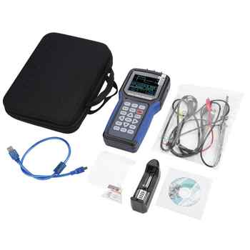 JDS2023 Oscilloscope Kit Handheld Digital 1-Channel 20MHz 200MSa/s Oscilloscopes Multimeter AC 110-220V