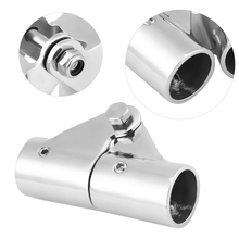 22/25mm Outside Diameter 316 Stainless Steel Folding Swivel Coupling Pipe Connector Boat Rail Tube Pipe Fittings Connector