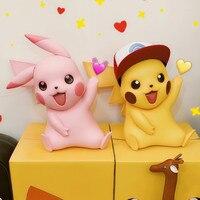 40cm Big Pikachu Statue Model TAKARA TOMY Japan Anime Pokemon Doll Action Figure Kids Christmas Gifts Toys Hobby Collections