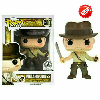FUNKO POP Indiana Jones Action Figure Toys Raiders of the Lost Ark Movie Characters Vinyl Dolls Decoration Models for Kids Gifts 2