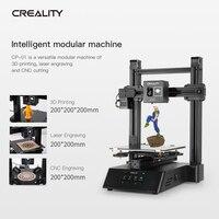 Creality original 3d novo CP 01 3 em 1 impressão 4800 rpm gravação a laser 3d impressão cnc função de corte|Impressoras 3D| |  -