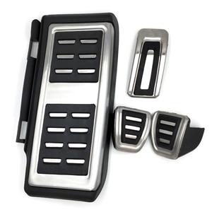 Image 3 - Stainless Steel Pedal For VW GOLF 7 GTi MK7 Lamando POLO A05 Passat B8 Skoda Rapid Octavia 5E 5F A7 2014+ Car Accessories