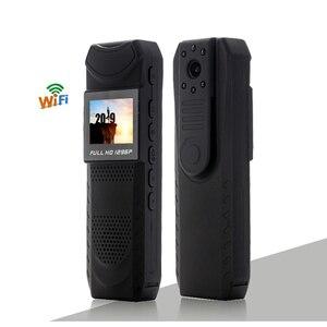 Image 1 - 1.5 calowy ekran bezprzewodowa kamera WiFi Night Vision Mini DV z Novatek 96650 ciała policja kieszonkowy aparat Loop Recorder Mini DVR