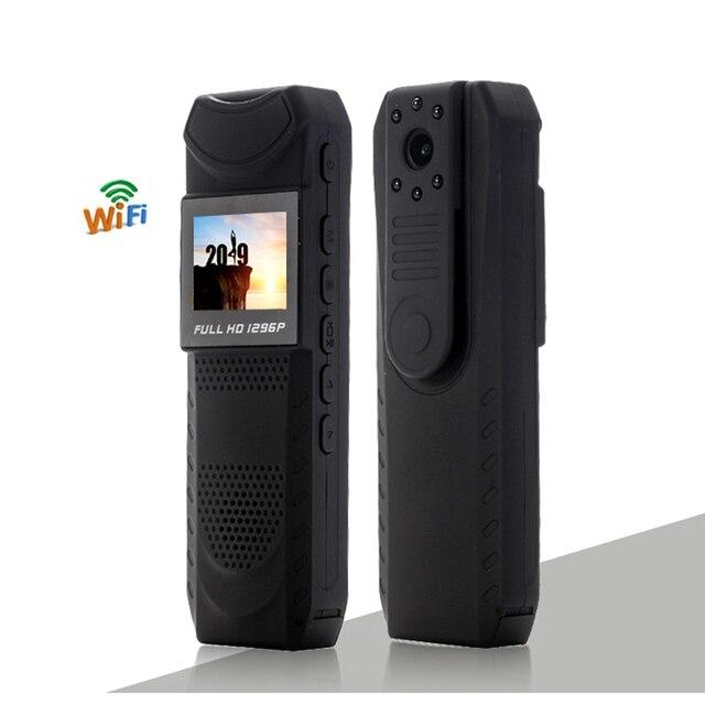 1.5 calowy ekran bezprzewodowa kamera WiFi Night Vision Mini DV z Novatek 96650 ciała policja kieszonkowy aparat Loop Recorder Mini DVR