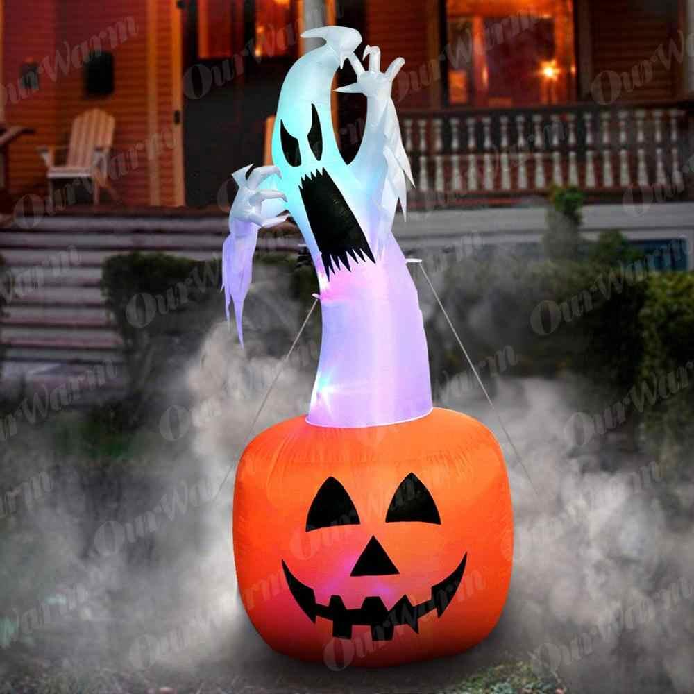 OurWarm надувная тыква на Хэллоуин наружное страшное украшение Хэллоуин вечерние надувные палочки