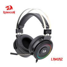 Redragon – écouteurs de jeu Lamia H320 rétroéclairé rvb, casque d'ordinateur avec support de Microphone, son Surround USB 7.1