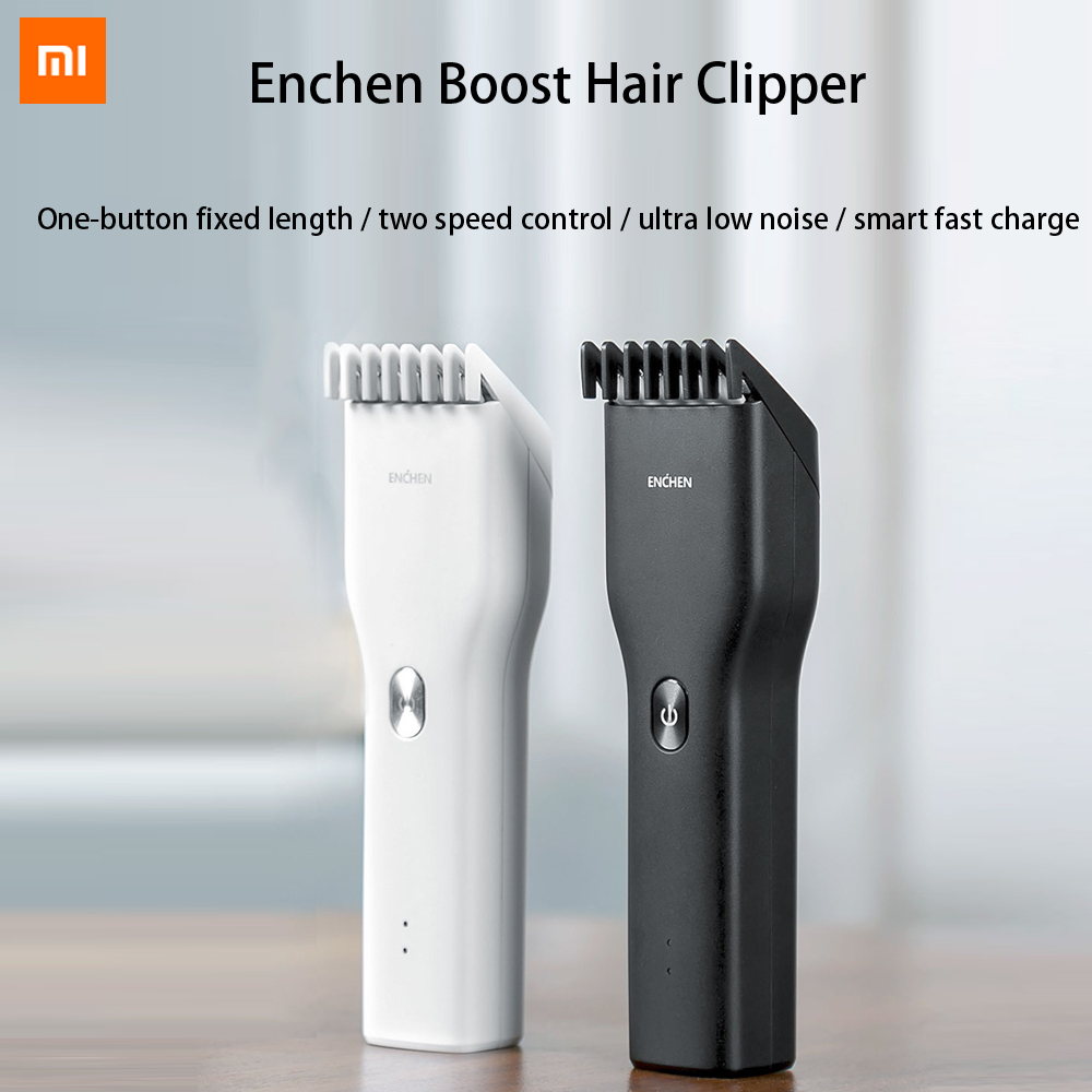 Xiaomi Enchen Electric Hair Trimmer USB Rechargeable Boost Clipper Cutter Men's Hairdress Cut Machine Adult Trimmers Clippers