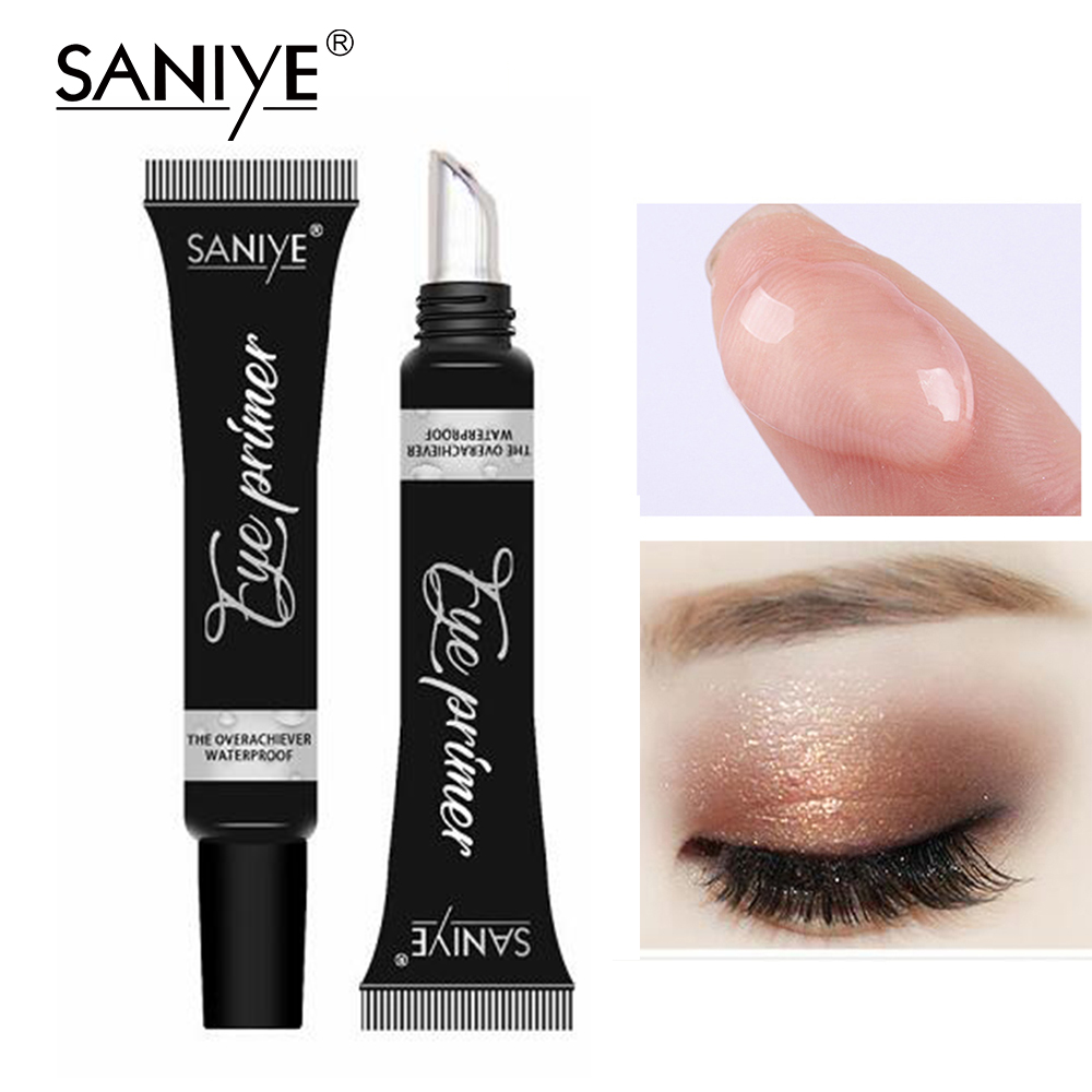 SANIYE Eye Primer Eye Base Cream Long Lasting Eyelid Primer Liquid Base Eyeshadow Base Primer Makeup Moisturizing R1187 image