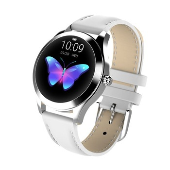 IP68 Waterproof Smart Watch Women Lovely Bracelet Heart Rate Monitor Sleep Monitoring Smartwatch Connect IOS Android KW10 band 8