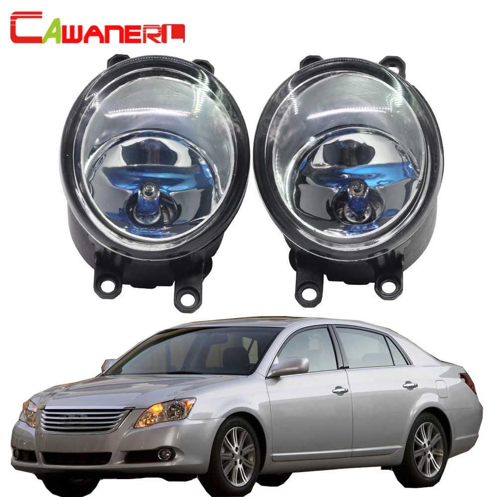 Cawanerl 2 個 H11 100 ワットの車のライトハロゲン曇電球日中走行用ライト DRL 12 トヨタアバロン 2008-2010