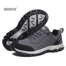 SEGGNICE Men Lesther Casual Sneakers Professional Outdoor Work Comfortable and Breathable Shoes Chaussure De Securite Pour Homme heinrich new style design flat men luxury loafer shoes casual breathable slip on driving shoes chaussure de securite pour homme
